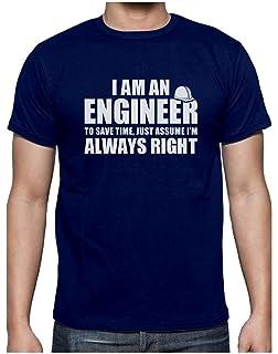Green Turtle T-Shirts Camiseta para Hombre - I Am An Engineer - Regalo Divertido