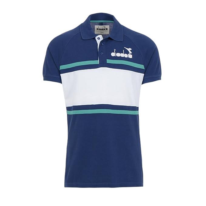 Diadora - Camiseta Tipo Polo Polo 80S para Hombre ES S: Amazon.es ...