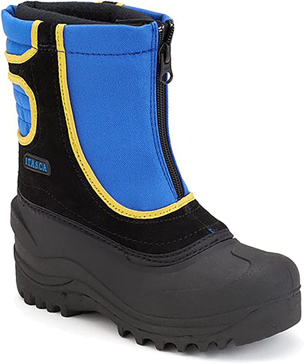 Itasca Boys Reflective Snow Stomper Kids Winter Boots