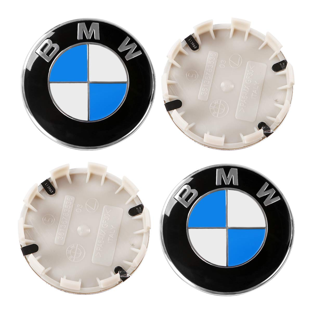 ORFORD Wheel Center Hub Caps Fit for Mercedes Benz 4PCS 75mm//2.95 Hub Cap Cover