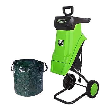 garden mulcher. BMC 2500W Portable Garden Shredder Electric Mulcher Outdoor Chipper Powerful Compost Mulch - 2 YEAR WARRANTY