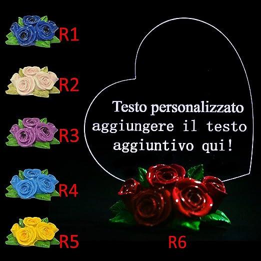 4 opinioni per Testo Personalizzato Ornamento LED a Cuore Regalo per Matrimonio, Regalo per