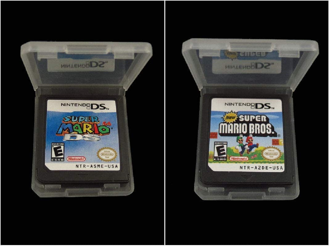 Amazon com: New Super Mario 64 DS+Super Mario Bros Game Card For