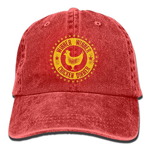 Rojo Gorra de béisbol para Hombre Unique Taille Rosso asegy 1FXTqAcq