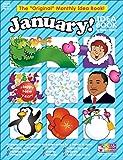 "January Monthly Idea Book (The ""Original"" Monthly Idea Book)"
