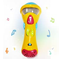 Wishtime Baby Sing & Play My First Musical Star Microphone Toys