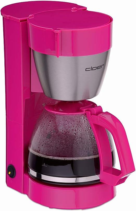 Cloer 5017-1, Cafetera, color Rosa, 31x 15 x 28 cm: Amazon.es: Hogar