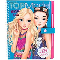 Top Model 0010015 – Cahier de Coloriage Motif Magic Fun