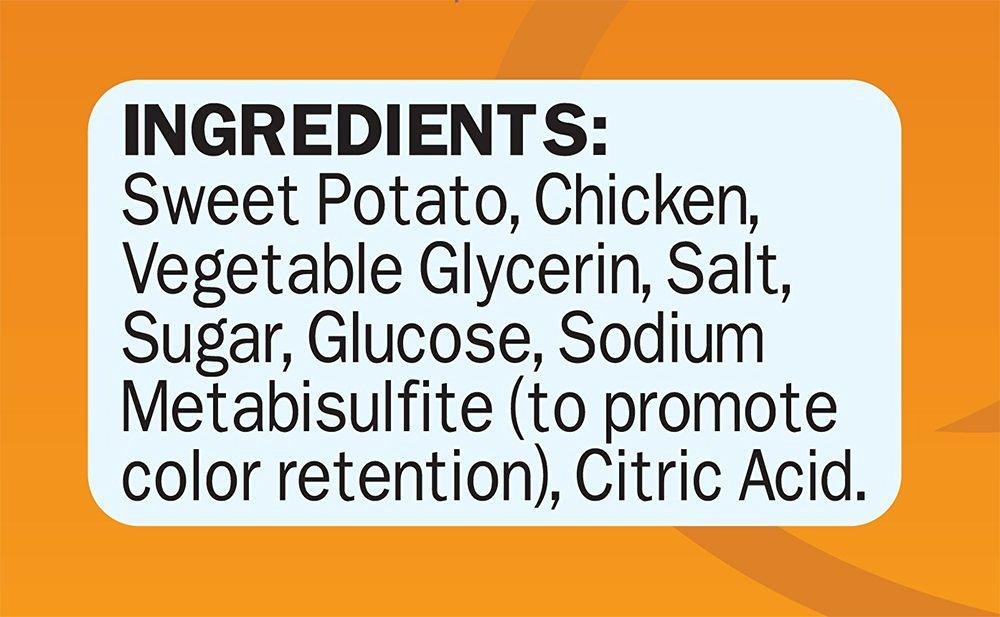 3 Pack Cadet Chicken Sweet Potato Dog Treat Wraps 28 oz Each