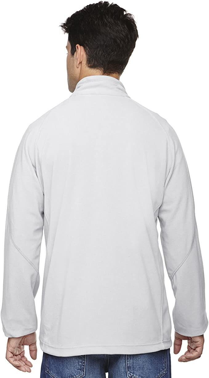 North End Mens Microfleece Unlined Jacket Ash City 88095