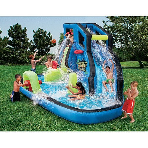 Banzai Battle Blast Water Slide