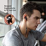Bluetooth Headphones TaoTronics Wireless 5.0 Magnetic Earbuds Snug Fit Sports Built in Mic TT-BH07 (IPX6 Waterproof, aptX Stereo, 9 Hours Playtime) - Upgraded Version