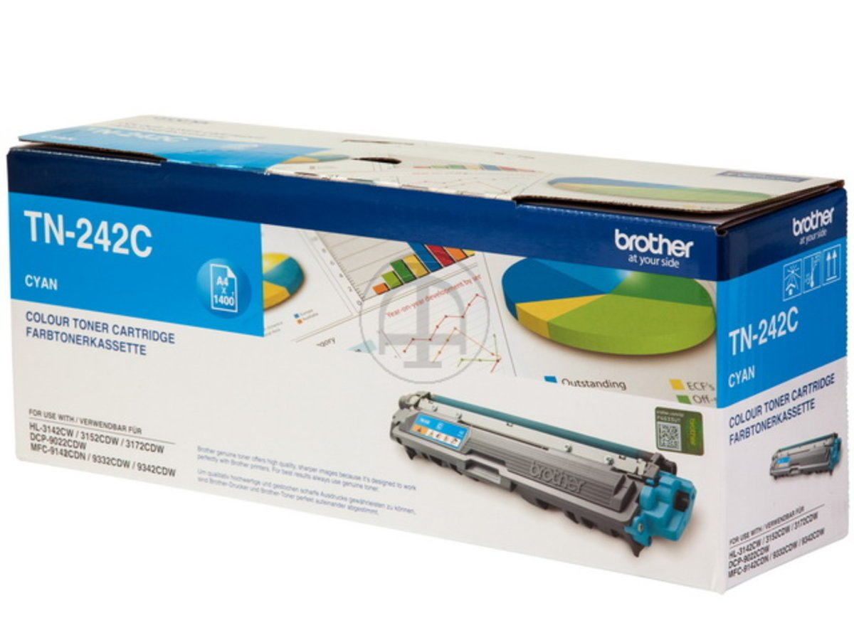 Brother Original - Brother DCP de 9015 CDW (TN de 242 C) - Toner ...