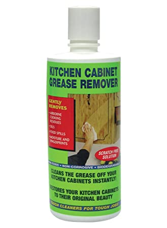 Amazon Com Kitchen Cabinet Grease Remover Health Personal Care