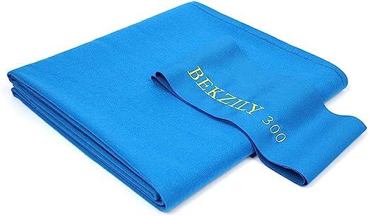 BEKZILY 300 Pool Table Cloth - Best Tournament Blue Color