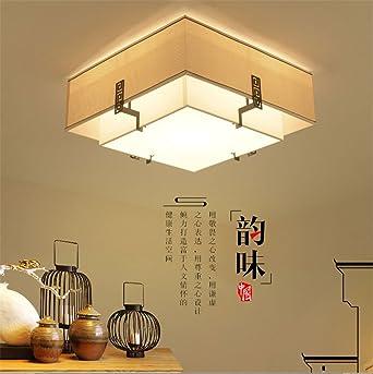 BRIGHTLLT Lámpara de techo nuevo chino salón Plaza luces ...