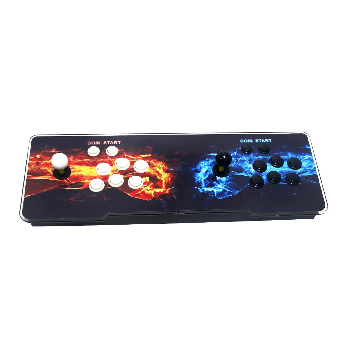Wisamic Double Stick Arcade Video Game Console 800 Classic Games 2 Players Pandora's Box 4s with HDMI and VGA Output