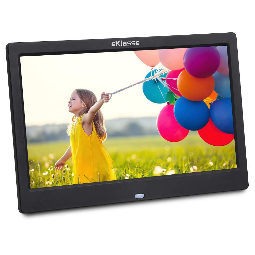 eKlasse EKDPF1003XM Multi Media Digital Photo Frame 10in (Black)