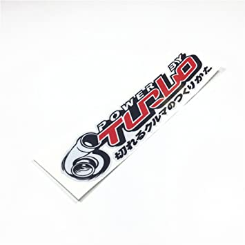 Amazon.com: Car Sticker Motorcycle Helmet Decals Vinyl Reflective for Turbo Japanese Illest HF Hellaflush: Automotive