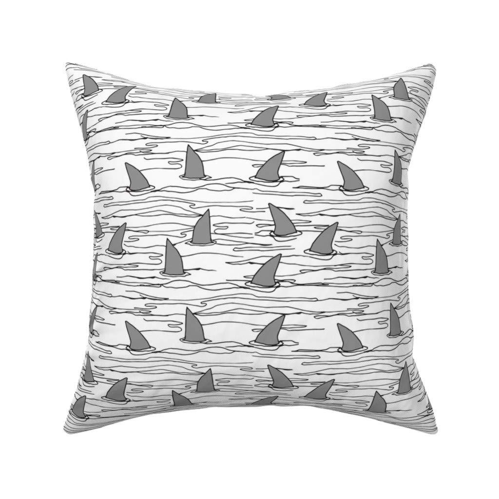 Amazon.com: Andrea Lauren - Cojín de tiburón de tiburón ...
