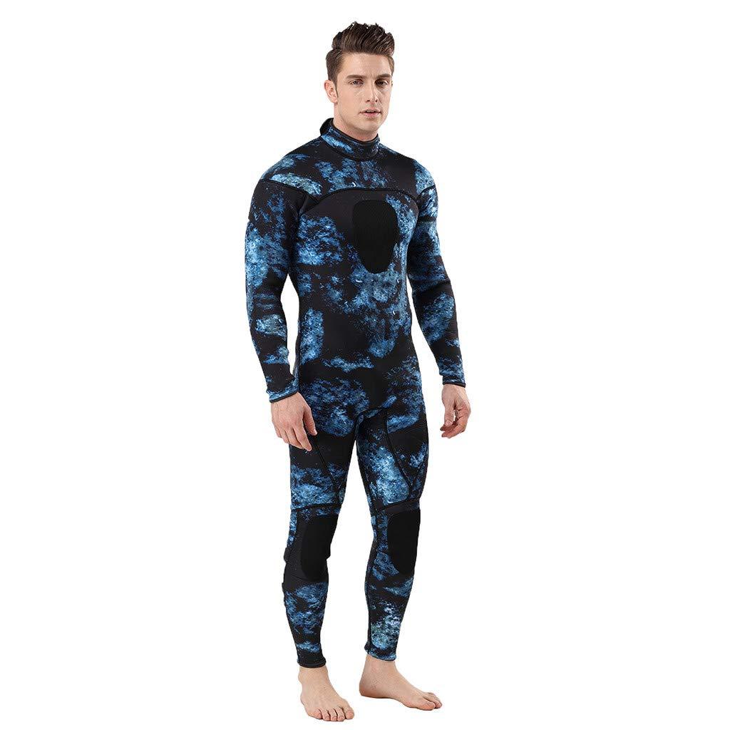 Webla-MEN WetSuit 3MM Ganzk/örperanzug Super-Stretch-Tauchanzug Schwimmen Surfen Schnorcheln