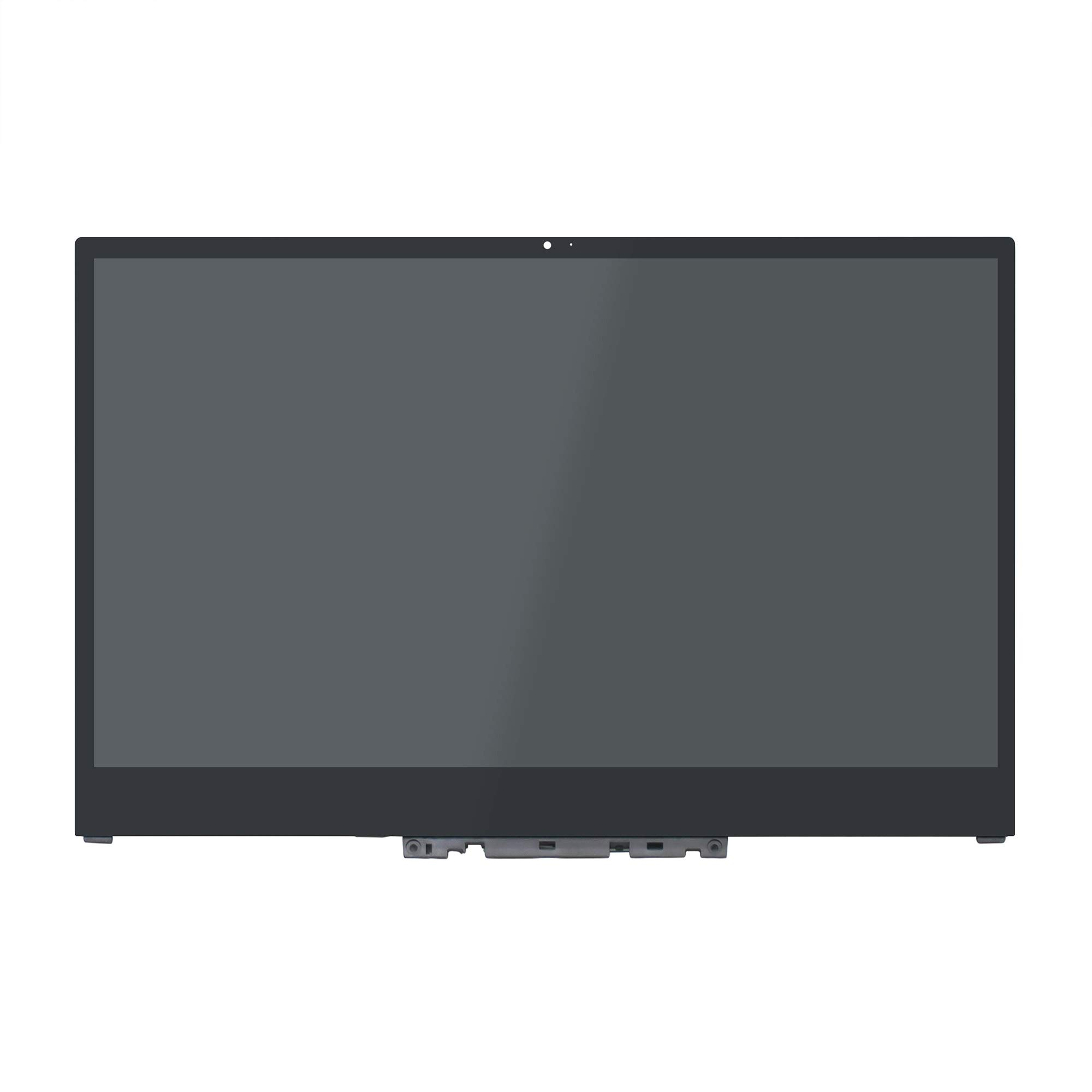 LCDOLED Compatible 15.6 inch UHD 4K 3840x2160 IPS NV156QUM-N51 LCD Display Touch Screen Digitizer Assembly + Bezel + Board Replacement for Lenovo Yoga 720 720-15 720-15IKB 80X7 80X7001VUS 80X7003VUS