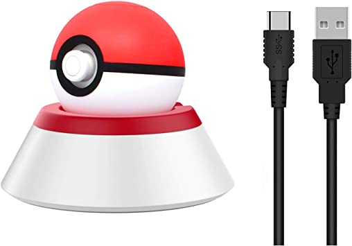 MoKo Base de Carga Compatible con Nintendo Switch Poke Ball Plus ...