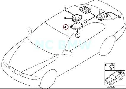 Amazon Com Bmw Genuine Gps Antenna Bracket Automotive