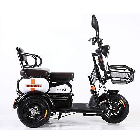 HXYT Scooter eléctrico Doble, Anciano Scooter de la batería ...