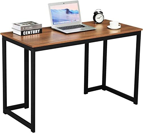 GreenForest Computer Desk 47'' Writing Study Gaming Desk Modern Simple Style Laptop Table