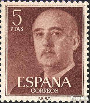 Prophila Collection España 1053b 1955 Francisco Franco (Sellos ...