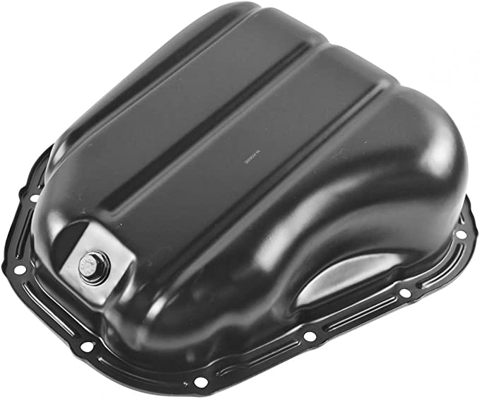 TUPARTS Engine Oil Pan for Lexus ES300 RX300 RX400h Toyota Avalon Highlander Sienna V6 L6 94 95 96 97 98 99 00 01 02 03 04 05 06 07 08 with Engine Oil Drain Pan 5.9L 6.7L with OE 264-316 Oil Drip Pan