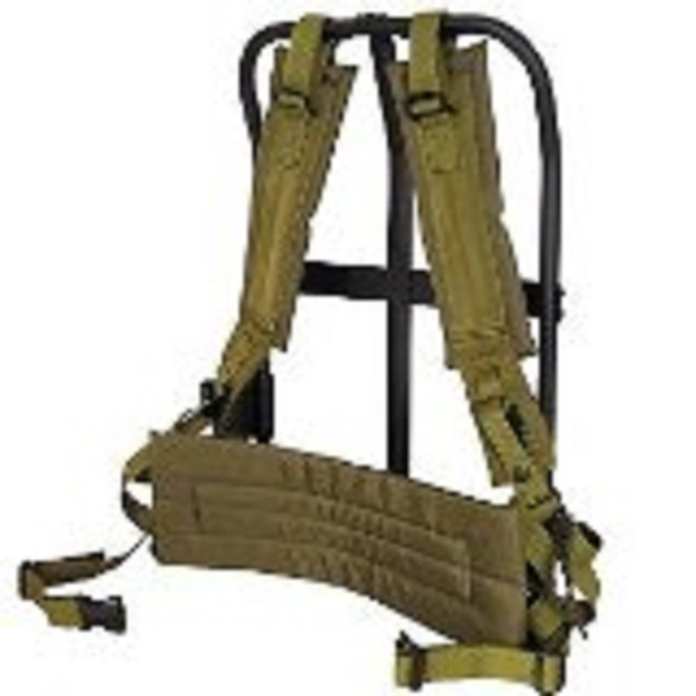 Alice Pack Frame (Black frame)with OD pad & straps by Fox Outdoor