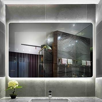 Specchio Bagno Cornice Argento.Specchio Del Bagno Specchio Del Bagno Con Luce Led Specchio