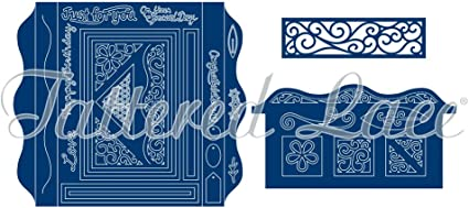 """3 Dies Our My Family *** *** /""""Tattered Lace/"""""""