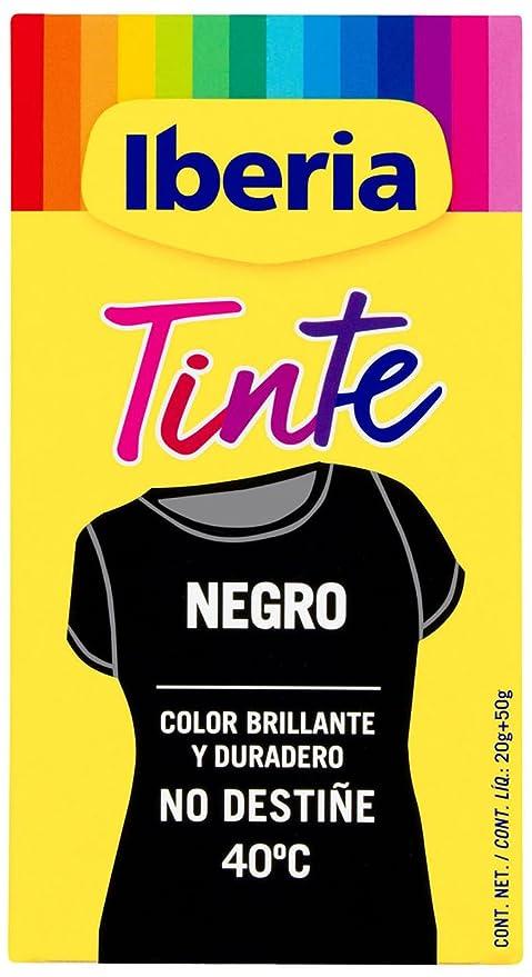 Iberia Tinte, 40°C, Negro - 70 gr