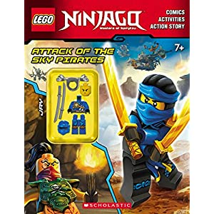 Attack of the Sky Pirates (LEGO Ninjago: Activity Book with Minifigure) - 61l 2BVh73qQL - Attack of the Sky Pirates (LEGO Ninjago: Activity Book with Minifigure)
