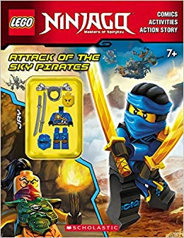 attack of the sky pirates lego ninjago activity book with minifigure ameet studio 9780545905879 amazoncom books