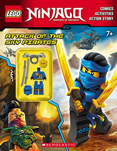 Attack of the Sky Pirates (LEGO Ninjago: Activity Book with Minifigure) by Scholastic Inc.
