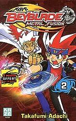 Beyblade Metal Fusion Vol.2
