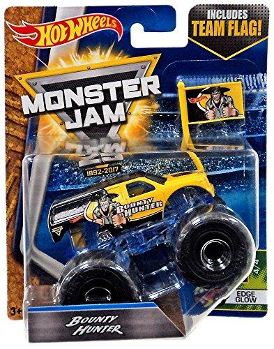 Hot Wheels Monster Jam Bounty Hunter Team Flag 4/4 (Bounty Hunter Toy)