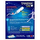 Tampax Pearl Active Plastic Tampons, Lites/Light Absorbency, Unscented, 18 Count, Packaging May Vary