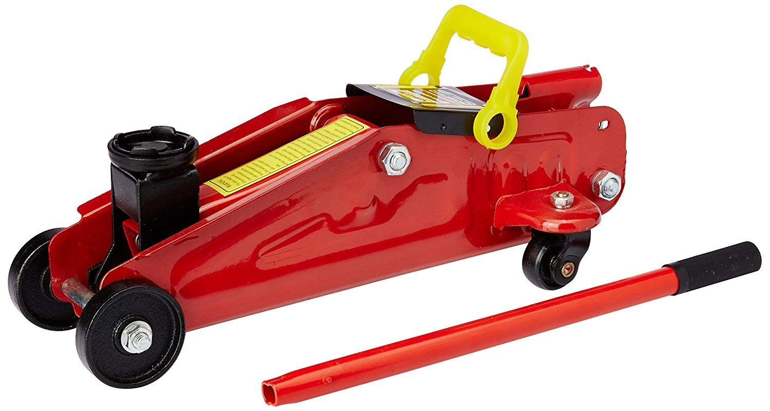 Pink Pari 2 Ton Floor Jack Shop Jack Portable Car Jack