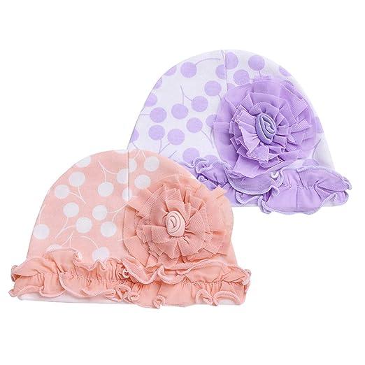 3PCS Newborn Baby Girls Boys Soft Knot Rabbit Hospital Hat Cap Photo Props Beanie  Hat Turban 8b47a1181366