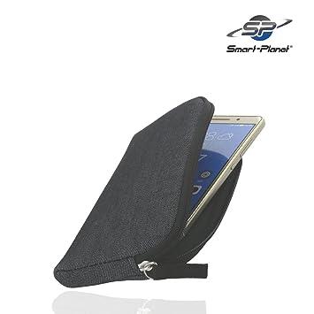 Smart-Planet® Funda SoftCase 2 xl Acolchada Universal para teléfono móvil Práctica para su Smartphone Samsung Galaxy S6 S7 / iPhone 6 7