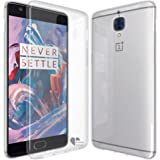 OnePlus 3 Case,Love Ying [Crystal Clear] Ultra[Slim Thin][Anti-Scratches]Flexible TPU Gel Rubber Soft Skin Silicone Protective Case Cover for OnePlus 3-Clear