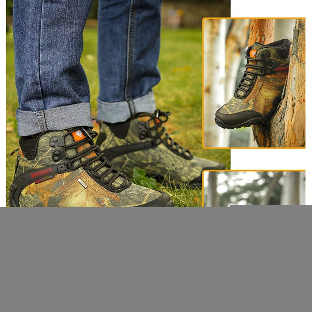 Scarpe da locomotiva impermeabili e Ventilate che camminano a piedi,A-40 CharmShan Botas Moto Hombre UK7
