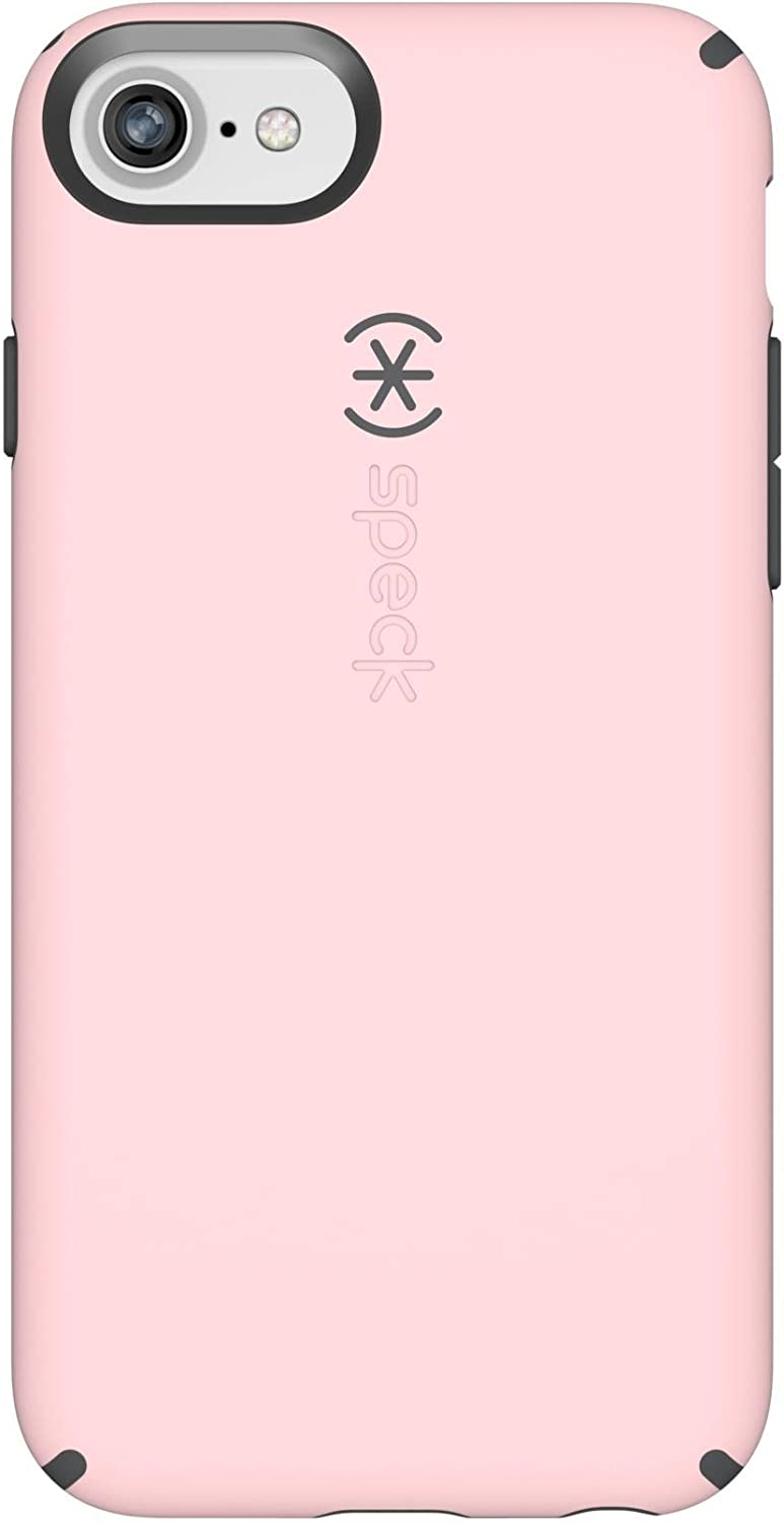 Speck Products CandyShell iPhone SE 2020 Case/iPhone 8/7/6S/6 - Quartz Pink/Slate Grey