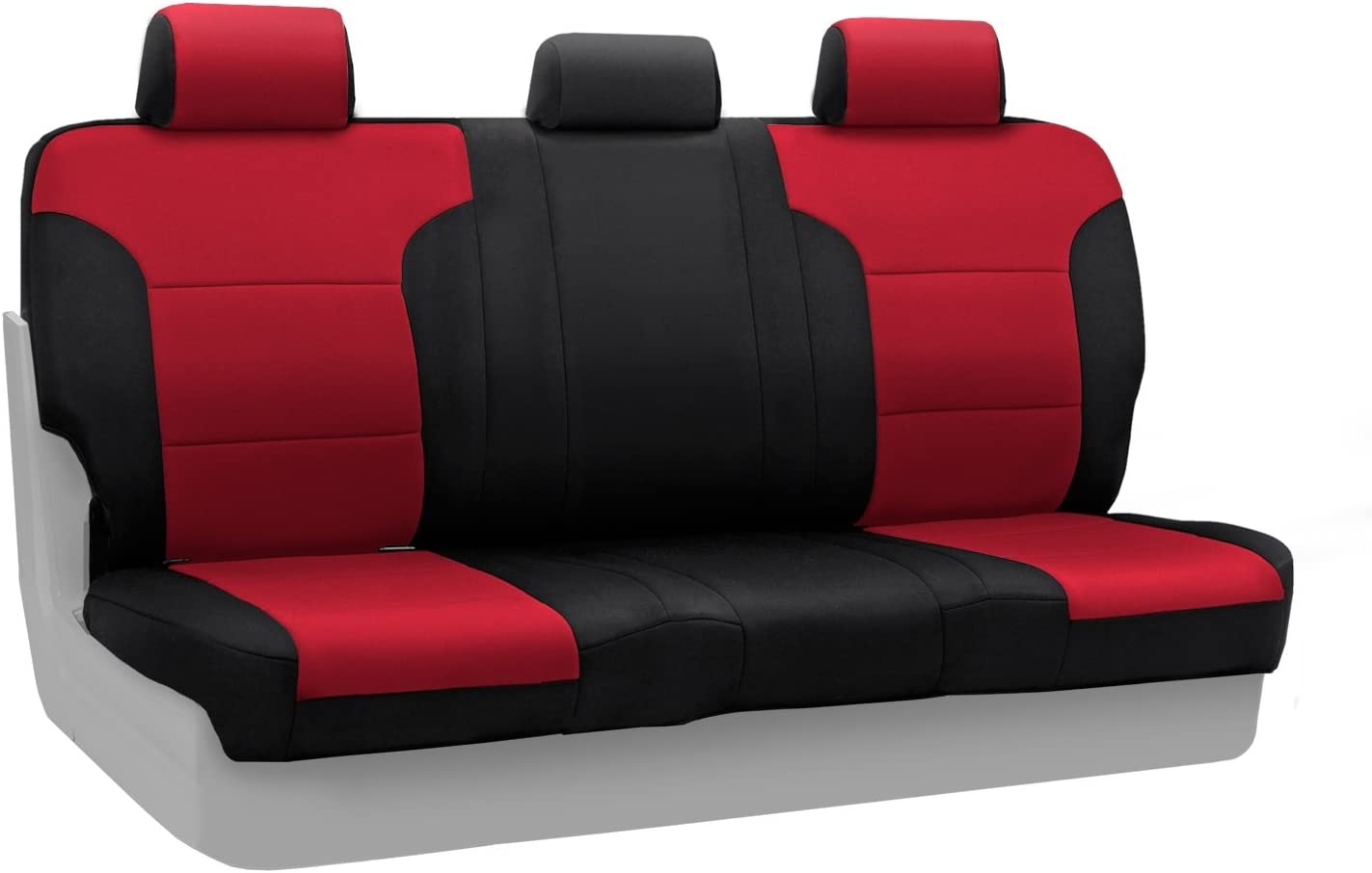 Neosupreme Coverking Custom Fit Front 50//50 Bucket Seat Cover for Select Toyota Tacoma Models Tan with Black Sides
