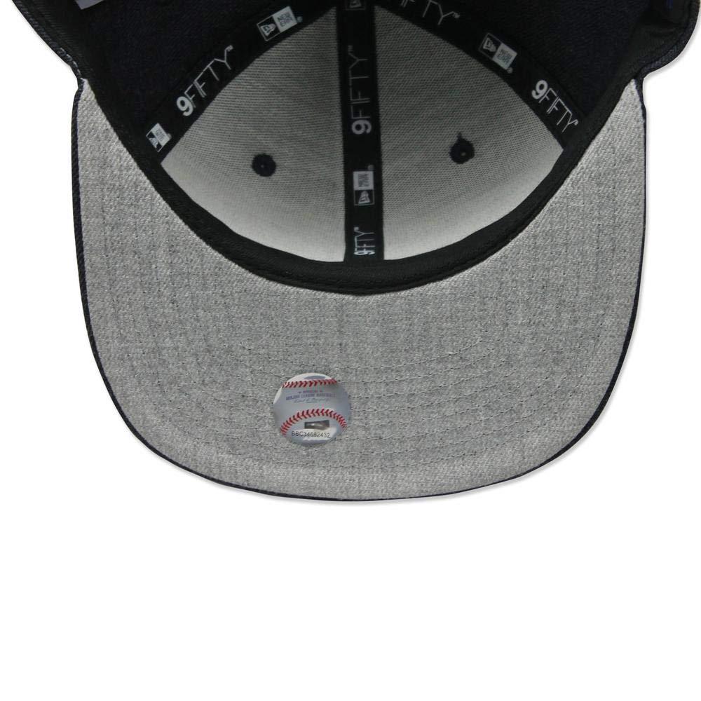 more photos 80396 7bfe2 Amazon.com   New Era 950 New York Yankees Heather Hype Snapback Hat (Heather  Dark Navy) Cap   Sports   Outdoors